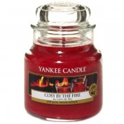 Yankee Candle Cosy By The Fire - Small Jar, Yankee Candle