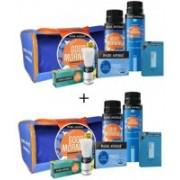 Park Avenue GOOD MORNING GROOMING KIT Travel Shaving Kit & Bag(Blue)