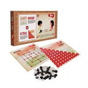 Toiing Navkakri Vettikali 2 in 1 Traditional Indian Fun Strategy Board Game Games for Kids