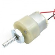 2000 RPM 12v DC Center Shaft Gear Motor (with clamp)