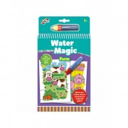 Water magic: carte de colorat la ferma