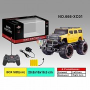 Remote Control Car Mad Racing Cross Country Hummer Style Truck Rechargeable