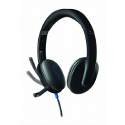 Fejhallgató, mikrofonnal, USB csatlakozás, LOGITECH H540 (LGFH540)