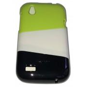 Трицветен калъф за HTC T328w Desire V 003
