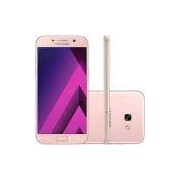 Smartphone Samsung Galaxy A5 Dual Chip Android 6.0 Tela 5,2 Octa-Core 1.9GHz 64GB 4G Câmera 16MP - Rosa