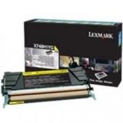 Lexmark X748H1YG galben (yellow) toner original