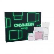 Calvin Klein Euphoria подаръчен комплект EDT 100 ml + EDT 15 ml + балсам за след бръснене 100 ml за мъже