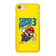 Nintendo Funda móvil Nintendo Super Mario Bros 3 para iPhone y Android - iPhone 6 - Carcasa doble capa - Mate