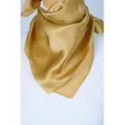 Goudkleurige satijn zijden sjaal