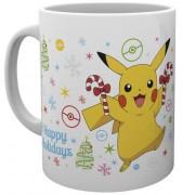 GYE Pokemon - XMAS Pikachu Mug