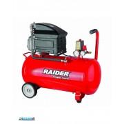 Compresor de aer 8 bar, 1500 W, 50 L Raider RD-AC02