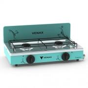 Fogão Portátil Flamalar Vetrô Turquesa - Venax Eletrodomésticos