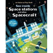 See Inside Space Stations and Other Spacecraft, Hardcover