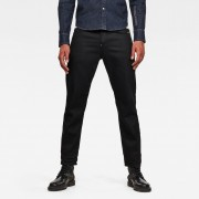 G-star RAW Hommes Jean Alum Relaxed Tapered Originals Noir