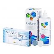 Johnson and Johnson Acuvue Oasys for Astigmatism (6 lentes) + Solução Gelone 360 ml
