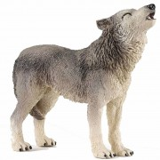 Papo Plastic speelgoed figuur huilende wolf 9 cm - Action products