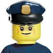 LEGO Police Officer Mask, One Size
