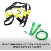 Kit De Entrenamiento En Suspensión mas SpeedRope