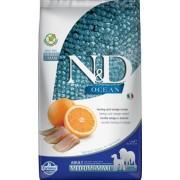 FARMINA N&D Ocean Adult Medium/Maxi - Hrană uscată pentru câini cu hering și portocale 2,5 kg