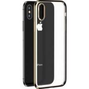 Husa Benks iPhone XS Max Electroplated Transparent Auriu