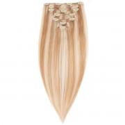 Rapunzel® Extensions Naturali Kit Clip-on Original 7 pezzi M7.5/10.8 Scandinavian Blonde 30 cm