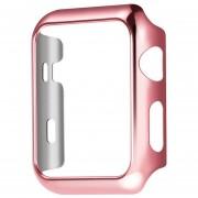 Louiwill [ACTUALIZAR] Kobwa Apple Watch Case 42 Mm, Resistente A La Caída De La Cubierta Resistente Al Desgaste Resistente A Los Arañazos Para Todas Las Versiones 42 Mm Apple Watch Series 2- Pink Gold