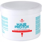 Kallos KJMN mascarilla para cabello frágil y dañado con aceite de coco, ácido hialurónico y colágeno 500 ml