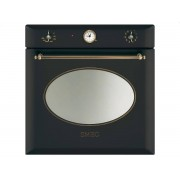 SMEG SF855AO Forno Elettrico Termoventilato 60cm 79Lt Antracite Estetica Coloniale A