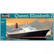 Детски комплект за сглобяване, Макет на кораба Куин Елизабет 2 Revell, 05806