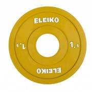 Eleiko IWF Weightlifting Competition Disc, 1,5 kg - RC