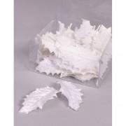 Witte hulstblaadjes 24 stuks