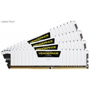 Corsair Vengeance Lpx 32Gb(8Gb x 4) DDR4-3200 (pc4-25600) CL16 1.35v Desktop Memory Module with White low-profile heatsink