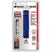 Maglite XL50 Linterna LED (3 celdas, AAA), color azul