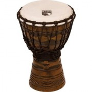 Toca TODJ-7AM Origins Series Rope Tuned Wood 7-Inch Djembe - African Mask Finish