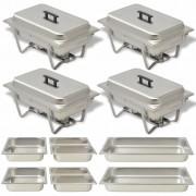 Sonata Комплект съдове за бен мари, 4 бр, неръждаема стомана