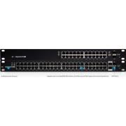 SWITCH, Ubiquity EdgeSwitch, 24-port Gigabit, 250W, Managed Smart PoE (ES-24-250W)