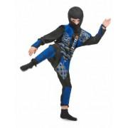 Vegaoo Ninja-Kostüm blau für Jungen