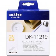 Brother DK-11219 Etiquetas 12 mm, 1200 piezas / bobina