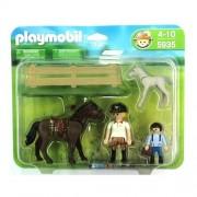 Playmobil 5935 & Horse Foal Large Set