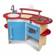 Cook's Corner Wooden Kitchen: Play House - Kitchens & Play Sets