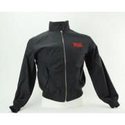 Lonsdale Harrington Jacket (Färg: Svart/Röd, Storlek: XS)
