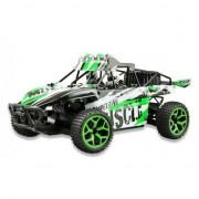 Masinuta cu telecomanda Sand Buggy Extreme RC 20KM/H / 1:18 / 4WD/ RTR / Negru Verde