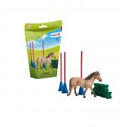 SCHLEICH Cursa de obstacole pentru ponei