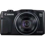 Canon PowerShot SX710 HS Digitale camera, 20,3 megapixels CMOS, HS-systeem, 30-maal optische zoom, 60-maal ZoomPlus, optischebeeldstabilisator, 7,5 cm (3 inch) display, Full HD-movie 60p, WiFi, NFC