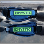 Mystic Adjustable Foot Strap Set. Navy.