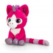 Unicorn de plus cu ochi stralucitori Keel Toys, 14 cm, Ciclame, 1 an+