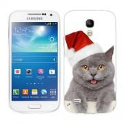 Husa Samsung Galaxy S4 Mini i9190 i9195 Silicon Gel Tpu Model Craciun Christmas Kitty