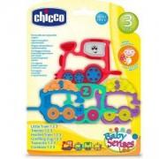 Бебешка дрънкалка-гризалка Chicco, влакче, 251204