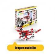 Детски конструктор Енджино - СТЕМ герой еволюция на драконите, 150088