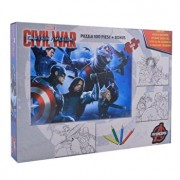 Puzzle Captain America, 100 piese